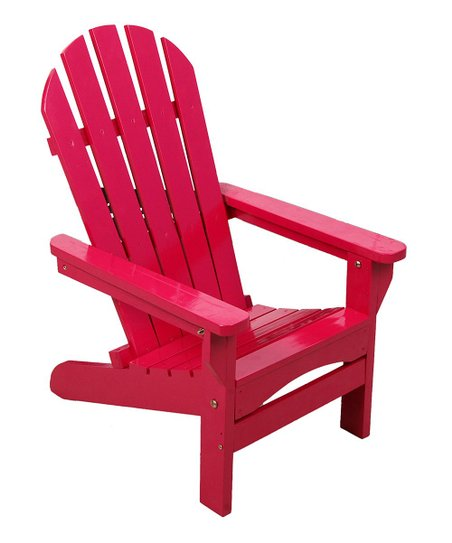 Fabulous Hrh Designs Fushia Kids Adirondack Chair Andrewgaddart Wooden Chair Designs For Living Room Andrewgaddartcom