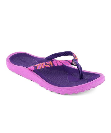 3745e9445c9 love this product Pink   Purple Breeze Skinny Flip-Flop - Women