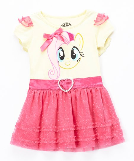 5d886962dd love this product My Little Pony Pink Fluttershy Tutu Dress - Toddler    Girls