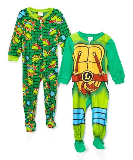 b54d69ffa Teenage Mutant Ninja Turtles Footie Pajama Set - Toddler