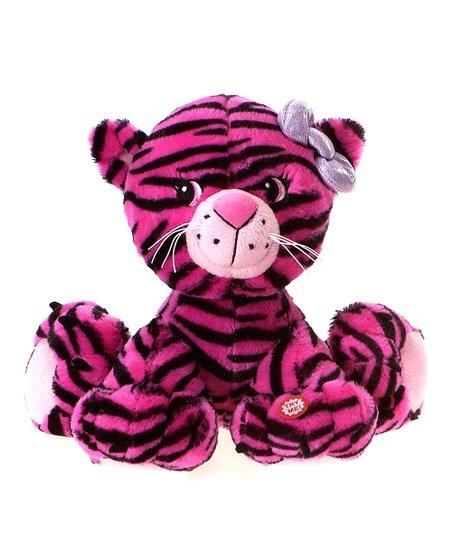 Fiesta Pink Tiger Sound Plush Toy Zulily
