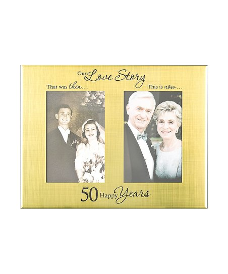 Ganz 50th Anniversary Then Now Frame Zulily