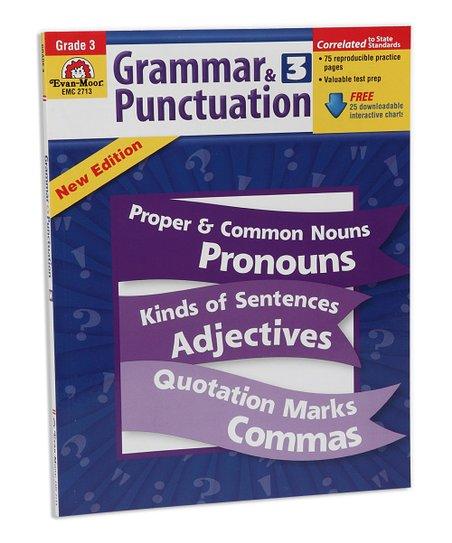 Evan-Moor Educational Publishers Grammar & Punctuation: Grade 3 Workbook