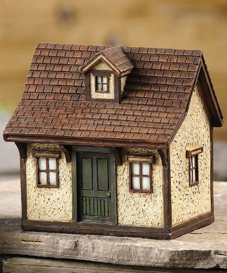 Miniature Cottage Sculpture