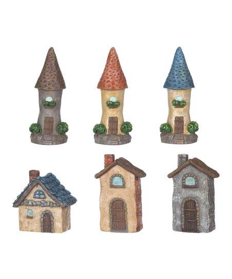 GANZ Tiny House Figurine Set
