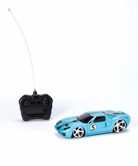 Blue Xst Ford Gt Remote Control Car