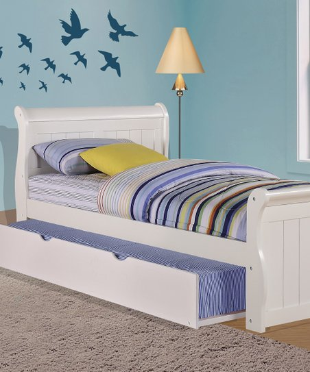 Donco Kids White Sleigh Bed & Trundle | Zulily