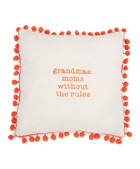 'Moms Without Rules' Decorative Pillow