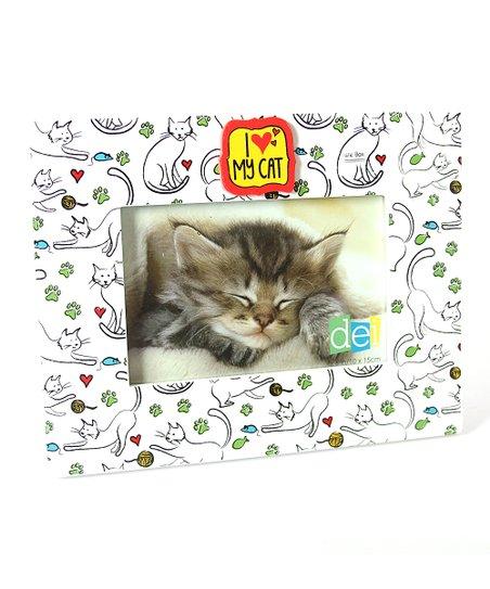 Dei Cat Print I Love My Cat Photo Frame Zulily