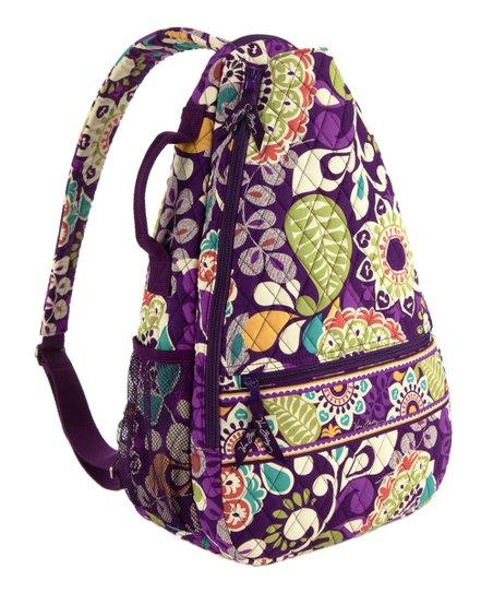 Plum Crazy Sling Tennis Backpack