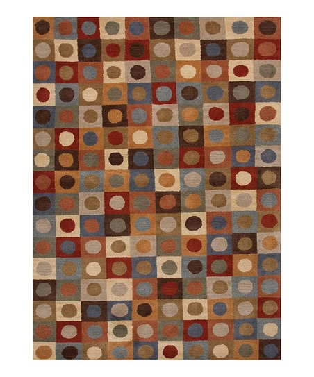 Jaipur Rugs Red Square Geometric Tufted Wool Rug Zulily