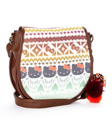 07490313c9c5 Loungefly Hello Kitty Boho Ikat Crossbody Bag