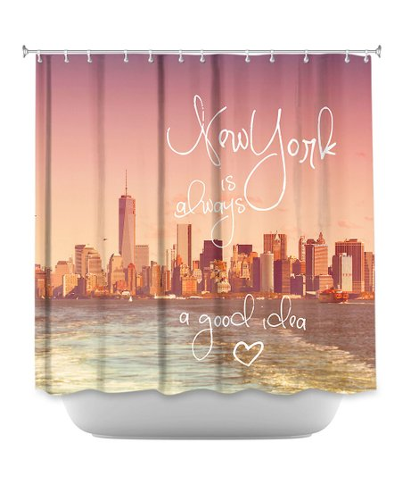 Love This Product Monika Strigel New York Skyline Shower Curtain