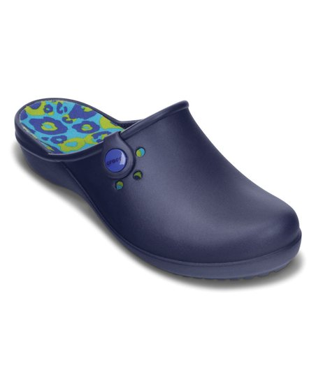 cf755ba36cd2db love this product Nautical Navy   Cerulean Blue Tully II Clog - Women