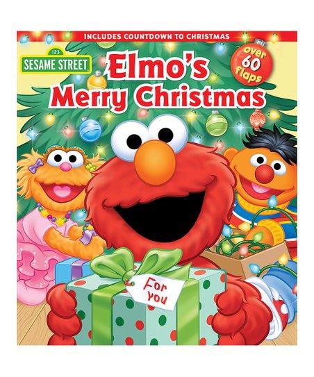 Elmos Christmas Countdown.Sesame Street Sesame Street Elmo S Merry Christmas Board Book