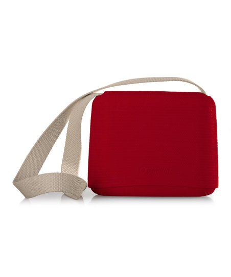 03ace6ea9d0 O Bag Ruby Red Canvas Strap O Pocket Shoulder Bag   Zulily