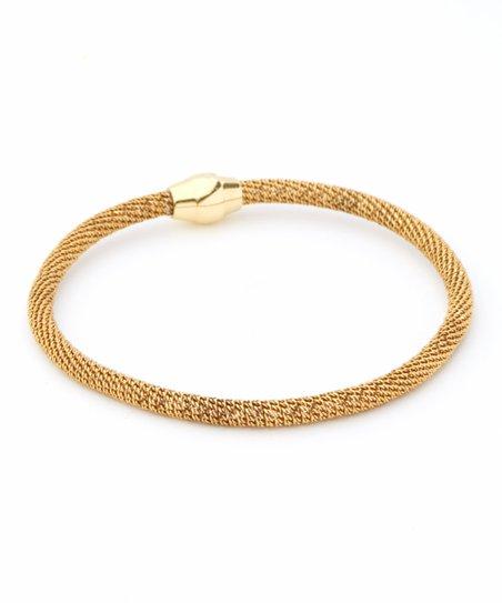 Sevil 925 Gold Italy Magnetic Bracelet