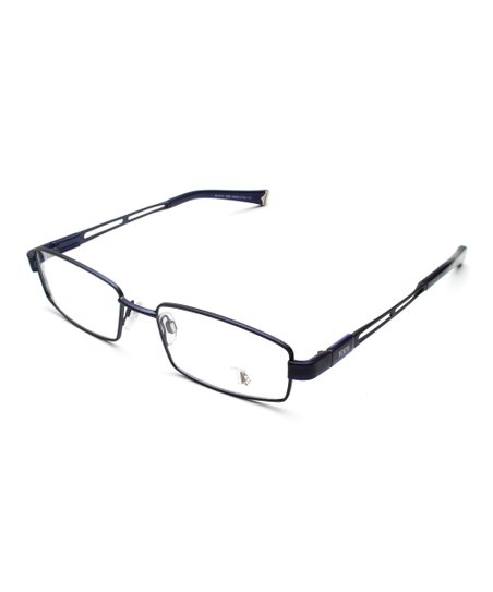 3fb0aab5ae70 Tods Blue Rectangle Wire-Rim Eyeglasses