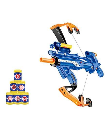 DIY KIDS Blue Crossbow Dart Gun Set