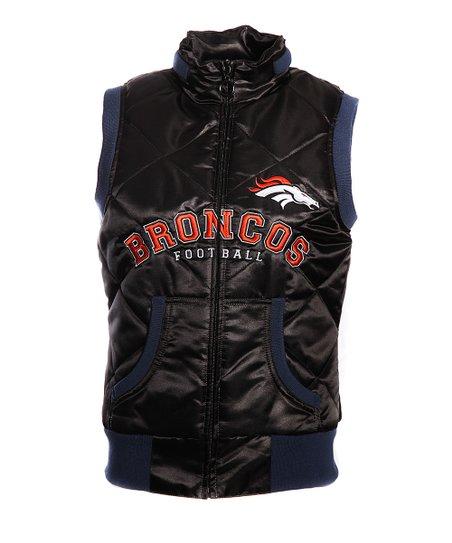 new arrival 537f5 fbfba MTC Denver Broncos Puffer Vest - Women | Zulily