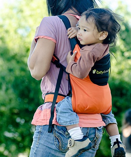 Bitybean Carrot Orange Ultracompact Baby Carrier