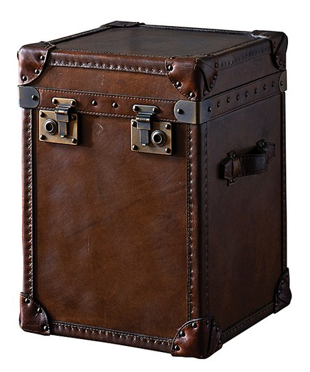 Steamer Trunk Side Table Zulily