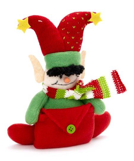 Dei Red Plush Elf Gift Card Holder Zulily