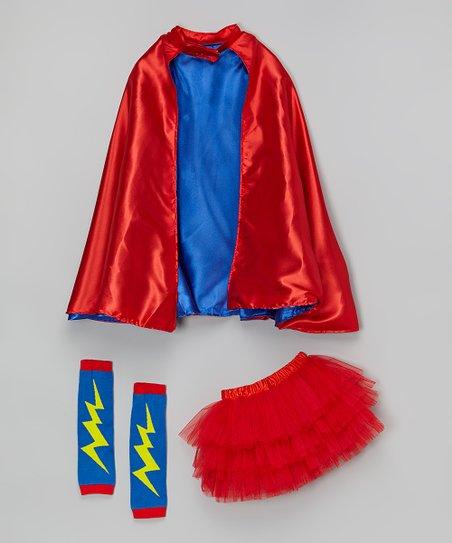a6812d6cf515 Miss Fancy Pants Red Superhero Tutu Set - Toddler