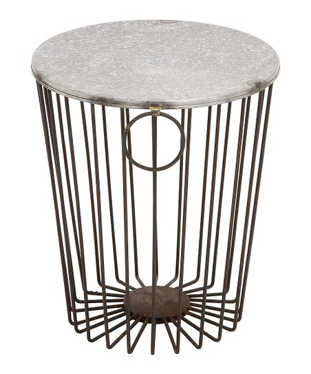 Peachy Uma Iron Garden Stool Zulily Evergreenethics Interior Chair Design Evergreenethicsorg