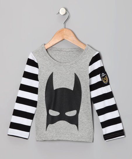 a3ce1d411 love this product Gray   Black Stripe Superhero Tee - Toddler   Kids