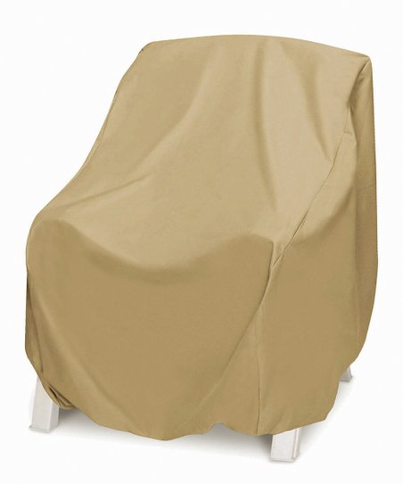 Remarkable Two Dogs Designs Khaki Oversize Chair Cover Gmtry Best Dining Table And Chair Ideas Images Gmtryco