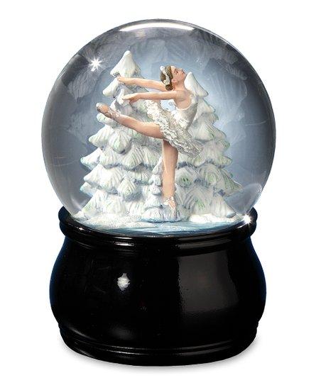 The San Francisco Music Box Company Swan Lake Ballet Water Globe