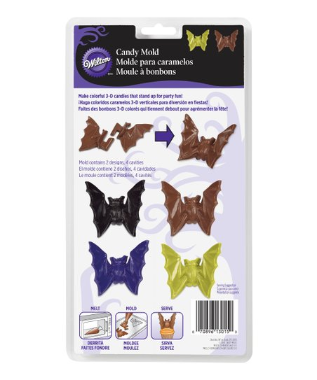 Bat Candy Mold Set Of Six