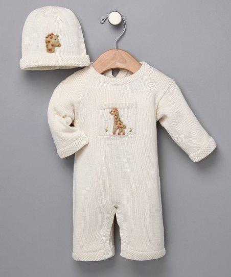 f3f89e218ce Ivory Giraffe Romper - Infant