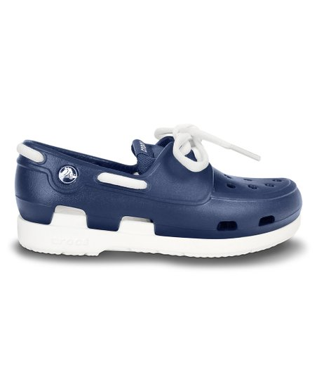 e66c9d215 love this product Navy   White Beach Line Boat Shoe - Kids