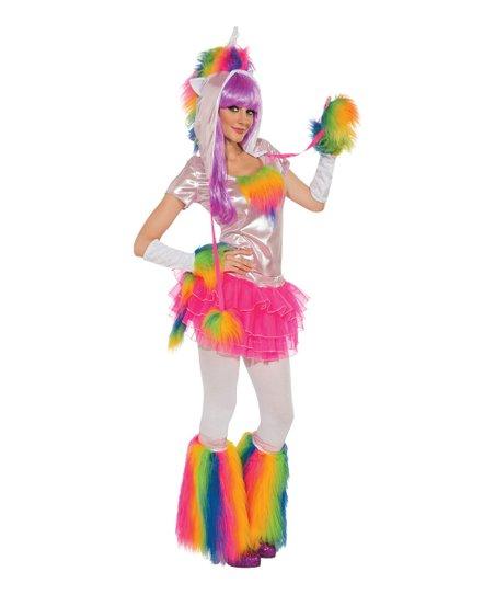 Rainbow Unicorn Costume Set