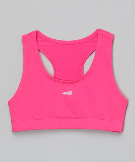 5473728bd8 love this product Pink Sports Bra - Girls
