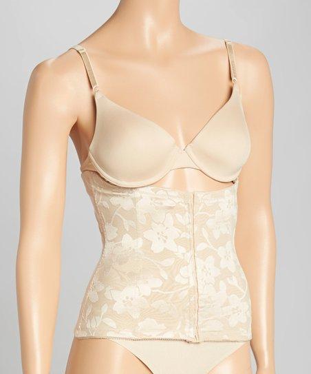 5797c72e5e4 Venus of Cortland Nude Lace Waist-Cincher Corset - Women   Plus