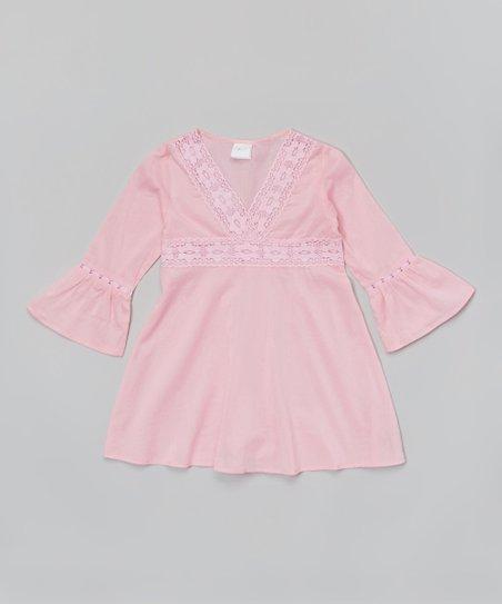 Azul Pink Long Sleeve Tunic