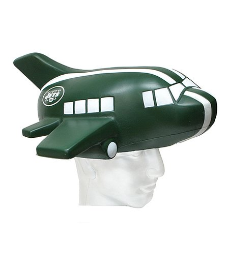 07611fd2 Foamheads New York Jets Foam Hat | Zulily