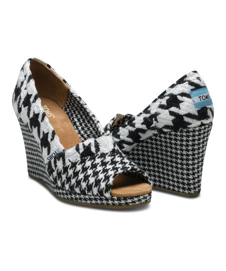 96030e0098a love this product Scottish Houndstooth Wedge - Women