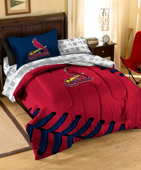 The Northwest Company St Louis Cardinals Full Bedding Set Zulily