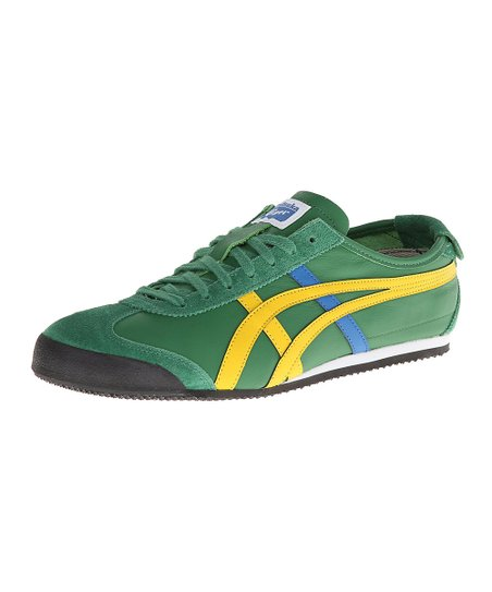 1defe7cfd5ac7 ASICS Amazon Green & Yellow Mexico 66 Sneaker