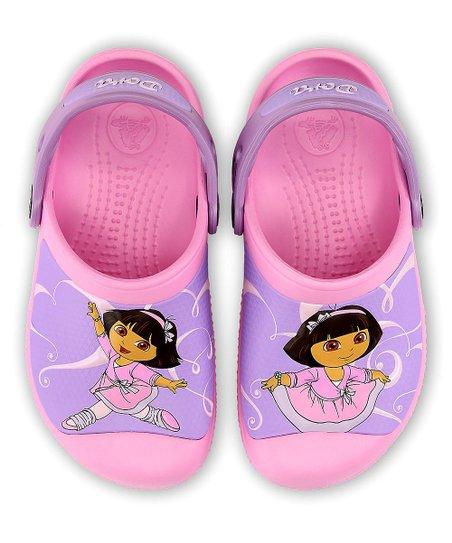 11f1227464da6 Carnation Creative Crocs Ballet Dora™ Clog - Kids
