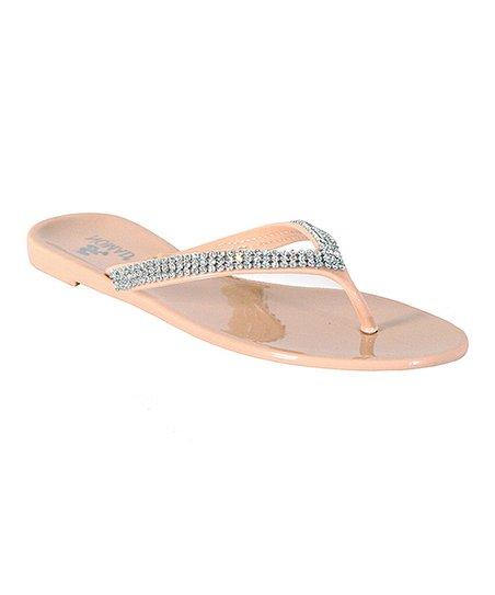 7ff600376e406b Nomad Footwear Nude Gumdrop Jelly Flip-Flop