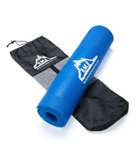 Black Mountain Products Blue Yoga Mat Set  feb5464ce