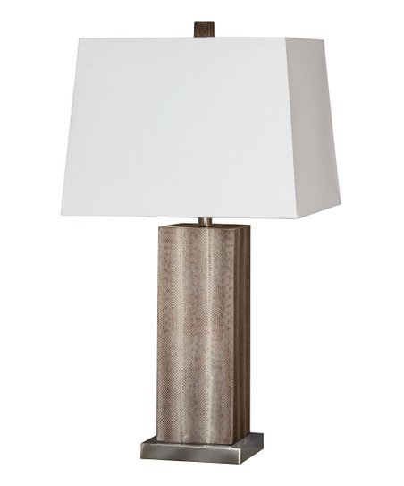 Af Lighting Taupe Gray Candice Olson Her Lamp Zulily
