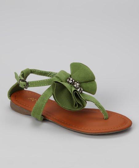 f41625ce4bd7 Anna Shoes Green Beach-19 Sandal
