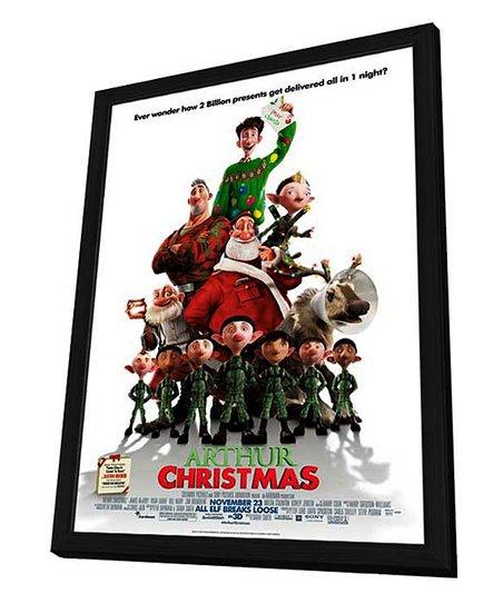 Arthur Christmas Poster.Arthur Christmas All Elf Framed Movie Poster Zulily