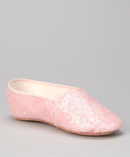 Capezio Pink Sparkle Glitter Step Jazz